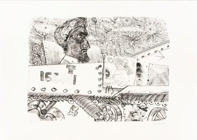 Gille, Sighard, Inder im Tank