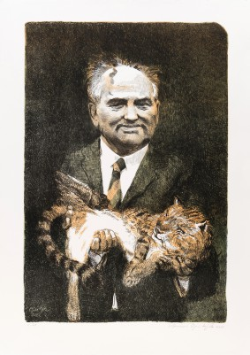 Grützke, Johannes, Michail Gorbatchov
