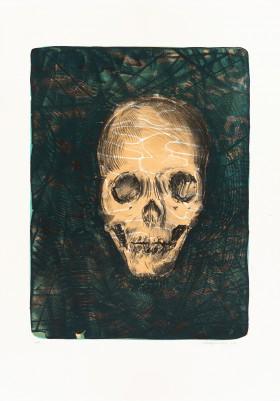 Saribas, Baris, skull
