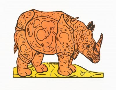 Wahle, Frank, Rhinozeros (nach Dürer)